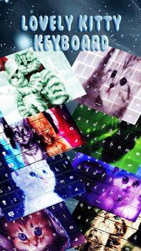Lovely Kitty Keyboard Theme poster