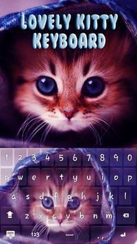 Lovely Kitty Keyboard Theme apk screenshot
