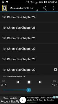 Audio Bible: 1 Chronicles 1-29 apk screenshot