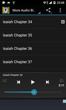 Audio Bible: Isaiah Chap 34-66 poster