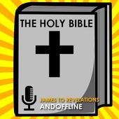 Audio Bible: James-Revelations icon