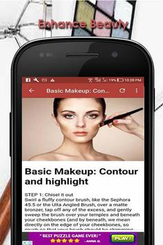 Learn How To Apply Make Up poster