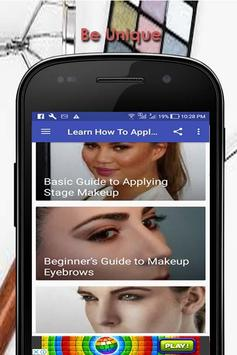 Learn How To Apply Make Up screenshot 5