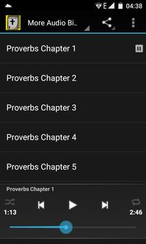 Audio Bible:Proverbs Chap 1-31 poster