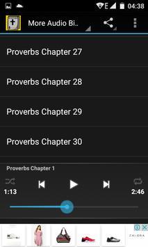 Audio Bible:Proverbs Chap 1-31 screenshot 1