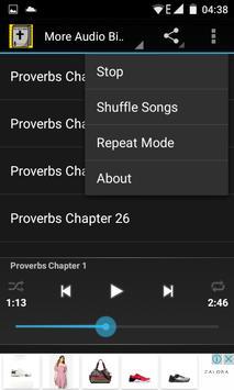 Audio Bible:Proverbs Chap 1-31 screenshot 5