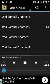 Audio Bible Offline: 2 Samuel poster