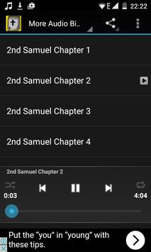 Audio Bible Offline: 2 Samuel screenshot 3