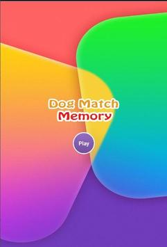 Dog Match Memory Quiz poster