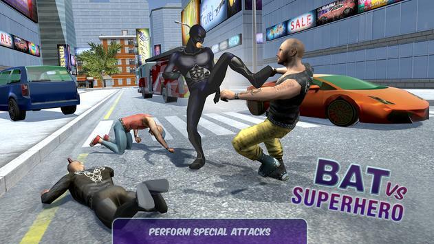 Bat vs Superhero apk screenshot