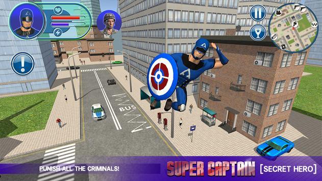 Super Captain Secret Hero apk screenshot