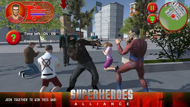 Superheroes Alliance apk screenshot