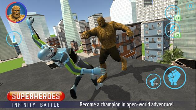 Superheroes: Infinity Battle APK