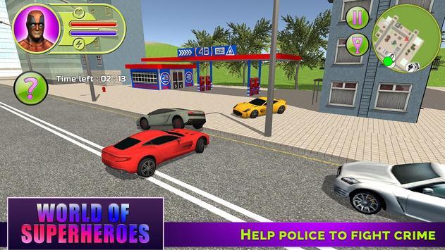 World of Superheroes apk screenshot