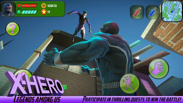 X-Hero: Legends Among Us APK