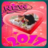 love new valentine 2017 icon