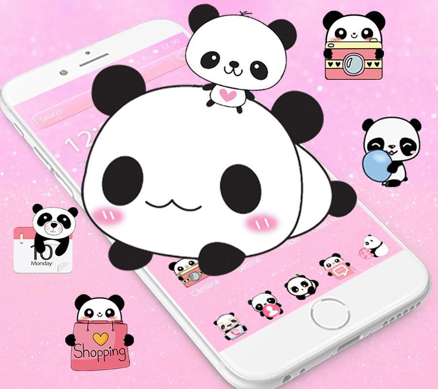 Imut Panda Tema Cute Panda For Android Apk Download
