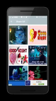 Good Night Gif poster