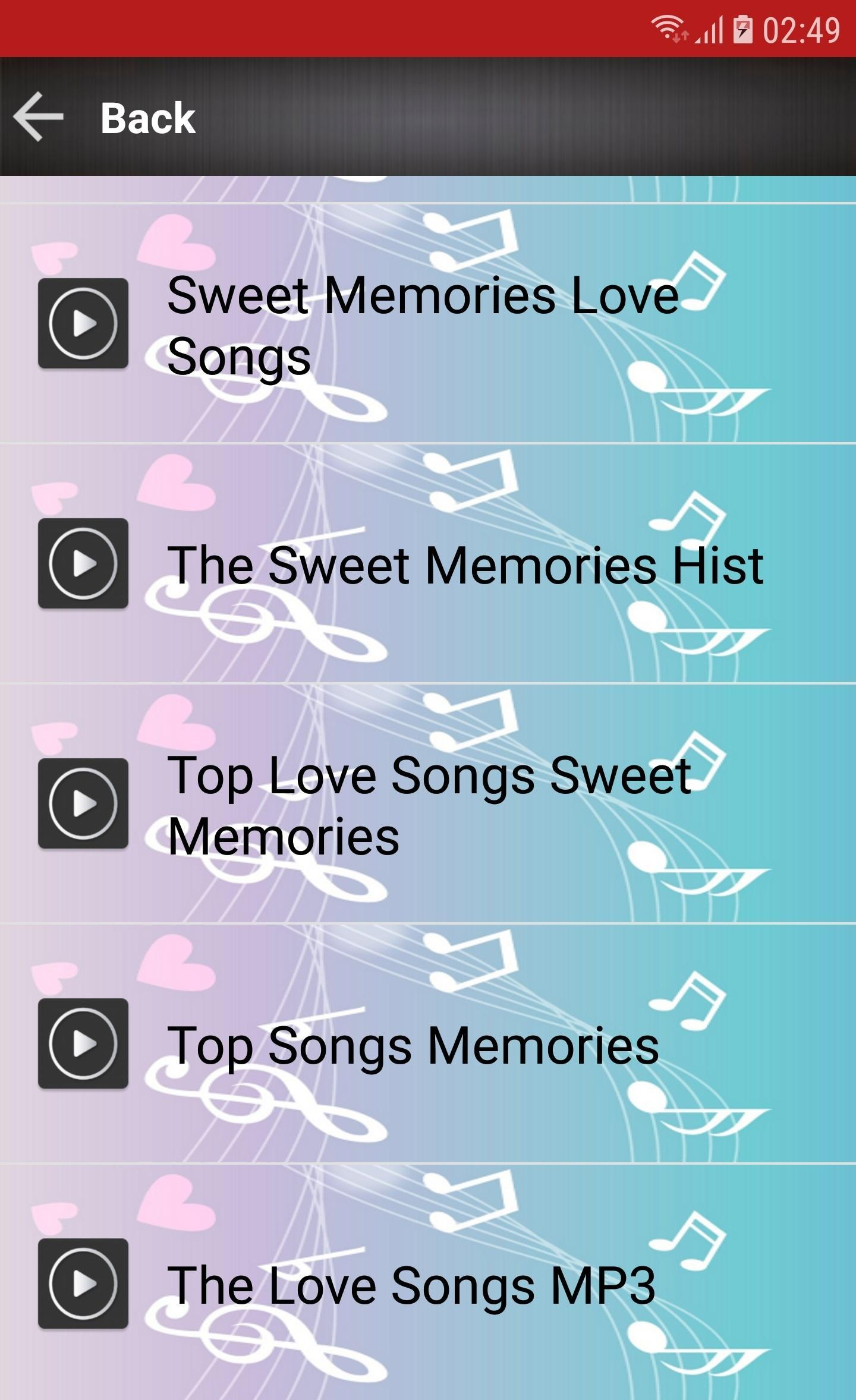 Love Songs Sweet Memories 80s 90s for Android - APK Download