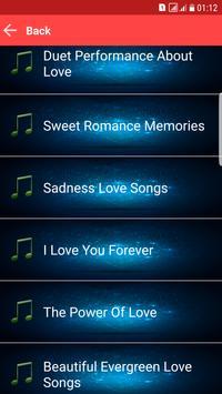 Love Songs MP3 Sweet Memories poster