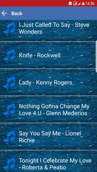Love Songs MP3 Lyrics apk screenshot