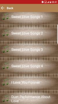 Love Songs Music MP3 screenshot 1