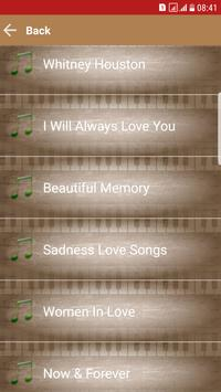 Love Songs Music MP3 screenshot 2