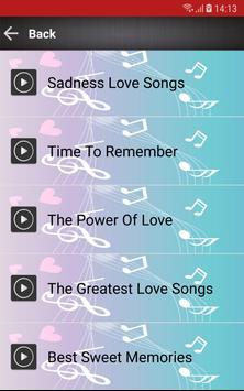Love Songs 80s 90s screenshot 1