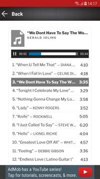 Love Songs 80s 90s screenshot 3