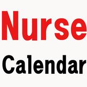 Nurse Calendar icon