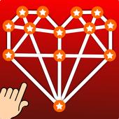 love drawing valentine icon