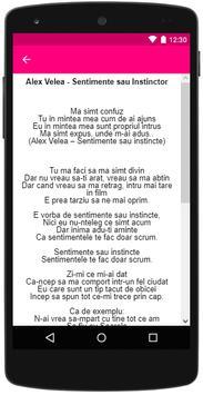 Alex Velea - Sentimente sau Instincte apk screenshot