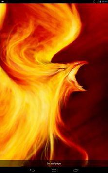 Fiery Predatory Bird Live WP poster