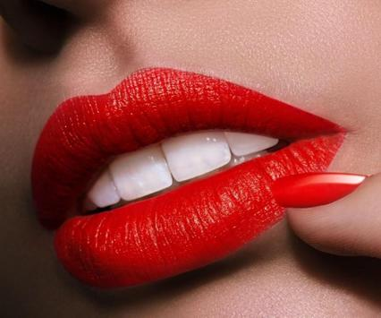 Kissing Lips Wallpaper Lipstick Kiss Mouth Apk Screenshot