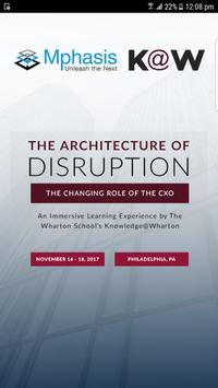 Architecture of Disruption poster