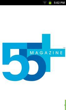 55+ magazine poster