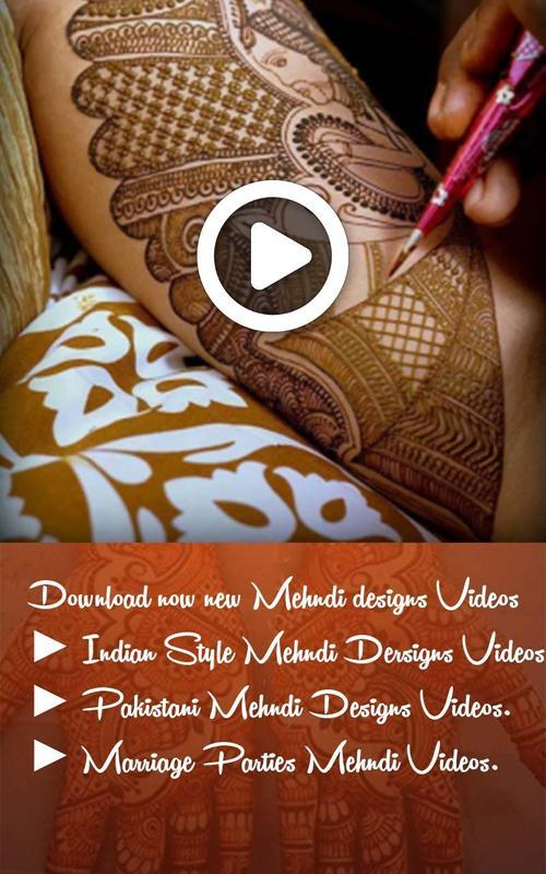 mehndi videos latest mehndi designs videos 2018 for