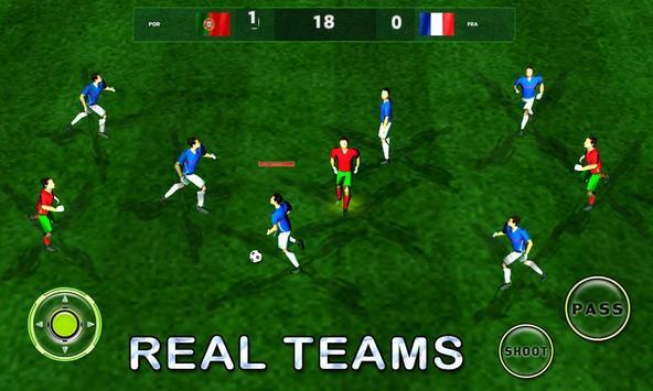 Let's Play Football Socccer HD poster