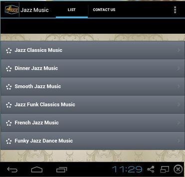 Jazz music screenshot 1