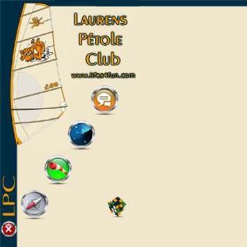 LPC Laurens Pétole Club poster