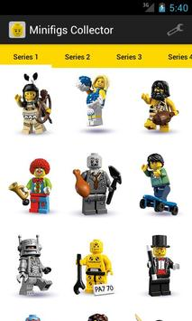 Minifigs Collector for LEGO® poster