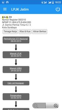 LPJK Jatim apk screenshot