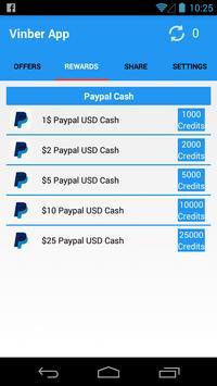 Vinber App Making money online screenshot 1