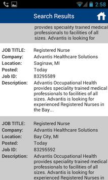 Healthcare Job Search apk screenshot