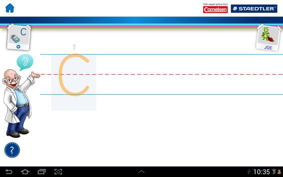 STAEDTLER Learn-to-write-app apk screenshot