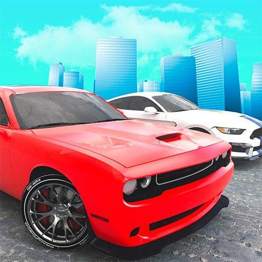 City Muscle Car Driving simulator 2018