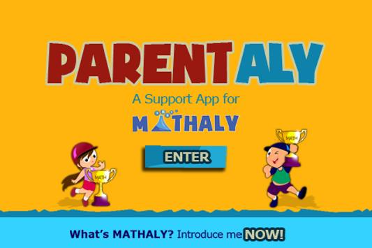 ParentAly: Mathaly Support app poster