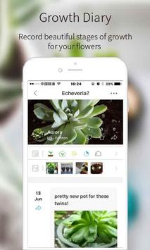 綠手指 - 植物識別-多肉植物成長日記相冊-花友交流社區-解決養花難題求助-花识别 apk 截圖