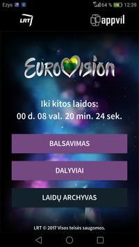 Eurovizijos atranka 2017 poster