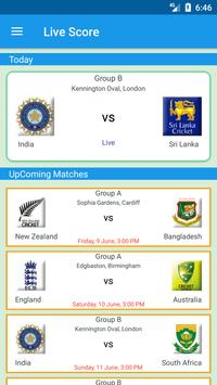 🏏live Cricket scores and news poster